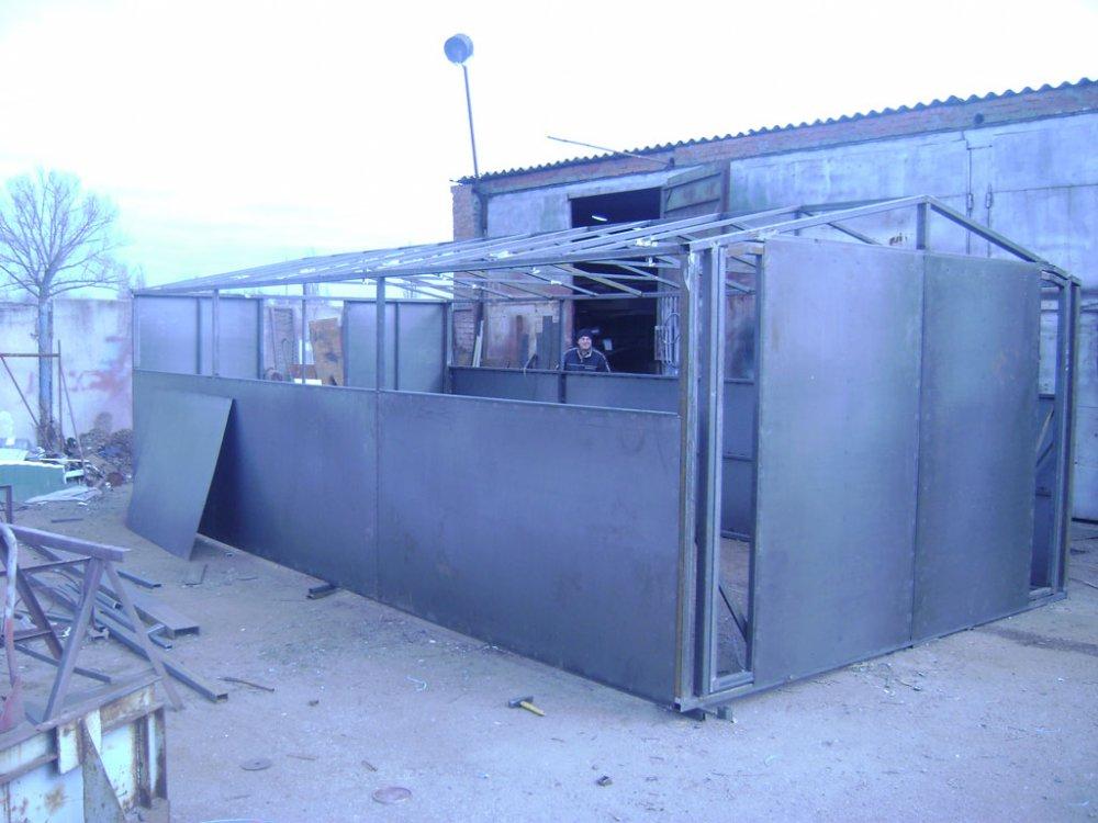Металлический гараж в орле